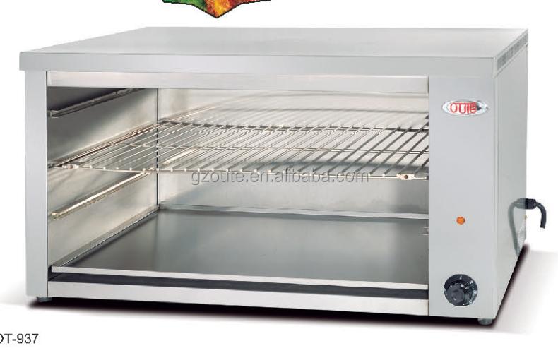 Comercial equipo de cocina encimera de salamandra for Cocina encimera electrica