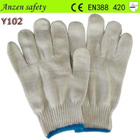 cotton clothing winter hand glove for safe