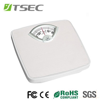Super Cheap Dial Type Body Mechanical Bathroom Weighing Scale