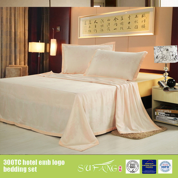 Beautiful Bamboo Textile Fabric Hemp Hand Embroidered Bed Sheet