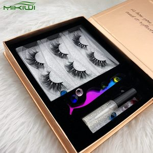 Mink Lashes 3d Beauty Thickness Rose Gold Square Eyelash Packaging Box Case With Window Private Label Mink Eyelashes Online