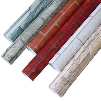 Red Brick Self Adhesive Shelf Drawer