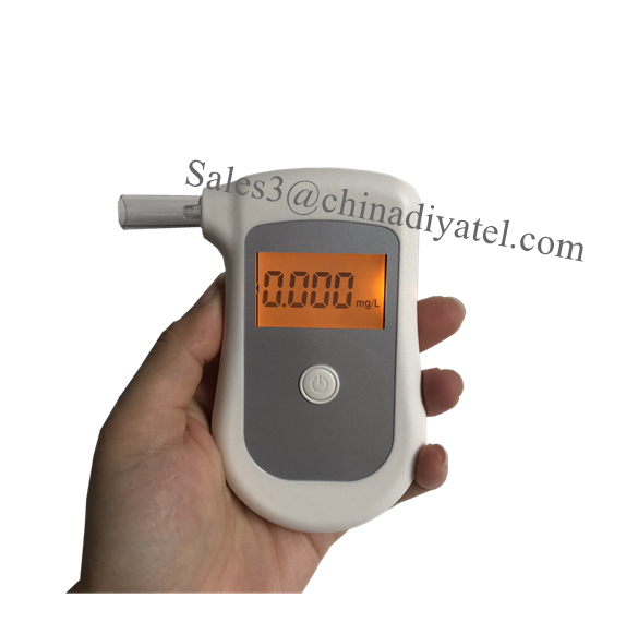 LCD Display Mouthpieces Alcohol Tester Breathalyzer Detector