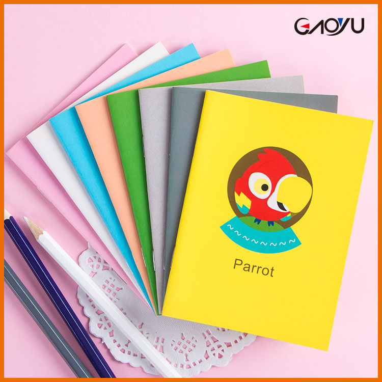 China Supplier OEM Factory Line Softcover Creative Cheap Mini Notebook for Kids