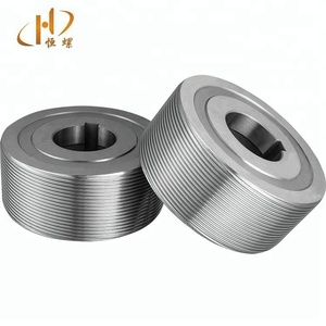Cylindrical thread rolling dies