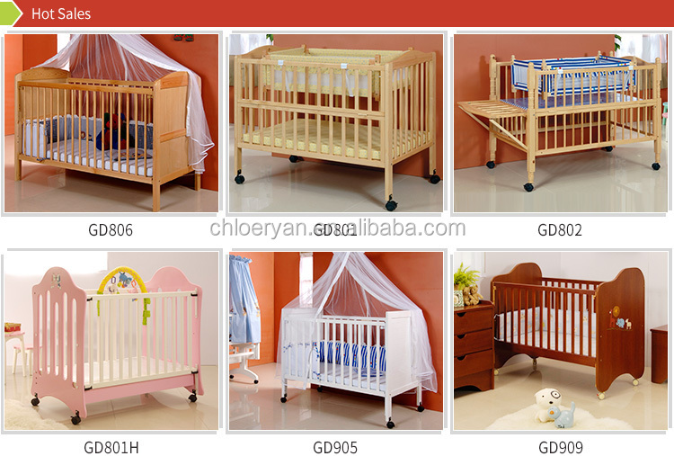 Very European Luxury White And Golden Wooden Crib Baby Cot - Buy Wooden  AA12