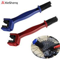 Private Label 2 Colors Cheap Bike Tools Nylon Bike Chain Brush Plastic Bicycle Chain Cleaner for easy carry