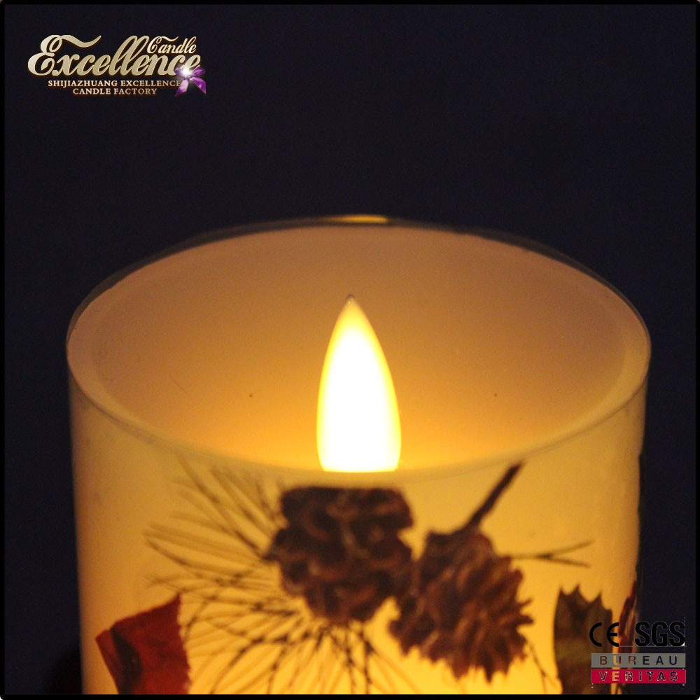 color changing flameless candles with remote / wave end led candle wholesale