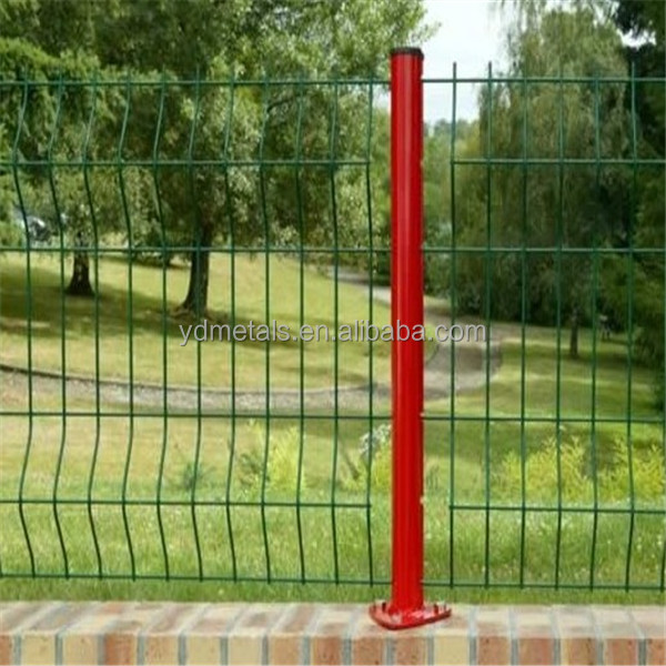 highway protection fence/bilateral wire fence/welded wire mesh fence