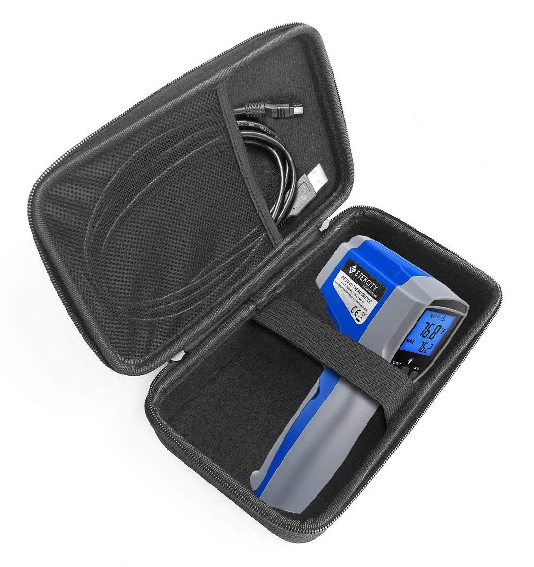FitSand Hard Case for Etekcity 1022D Dual Laser Digital Infrared Thermometer Temperature Gun