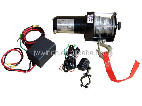 Professional winch manufacturer supply 2500lb ATV / boat winch