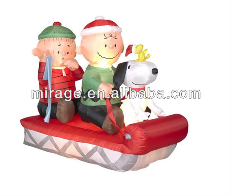 peanuts outside christmas decorations lizardmediaco - Snoopy Blow Up Christmas Decorations