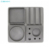 High Quality Luxury Concrete Unique Office Stationery Storage Box Gift Set