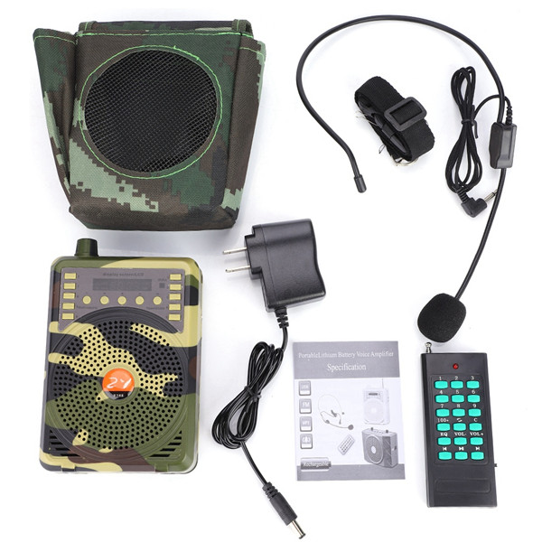 Wholesale Electronic Bird Caller Hunting Decoy Calls MP3 Speaker 400m Remote Control Shooting Caller Hunting Bird Calls Speaker