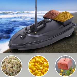 Fishing Tool Smart Remote Control Fast Electric RC Fishing Bait Boat 2pcs Bait Tanks with Dual Motors Sea Fishing