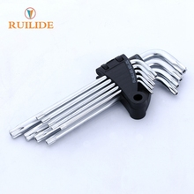 Chromium vanadium alloy steel deep sleeve wrench hexagonal