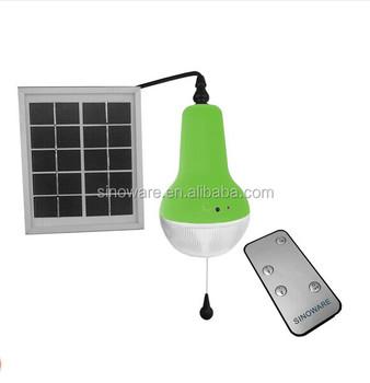 Remote Control Led Mini Solar Light Kit With 1.7w Solar Panel,More ...