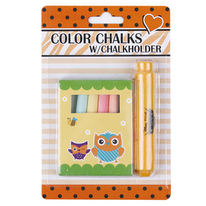 INTERWELL LCK22 Natural Chalk, Low Prices Chalk and Chalkholder Set