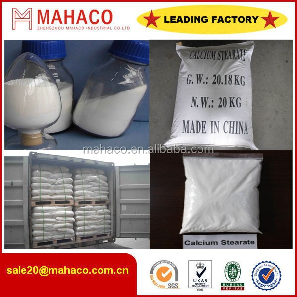 Calcium stearate 99%/calcium stearate pvc stabilizer with msds/stabilizer for pvc pipes