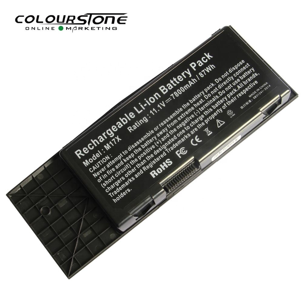 M17X Laptop Battery for Dell Alien Alienware M17x R3 R4 TYPE BTYVOY1 11 1V  90WH