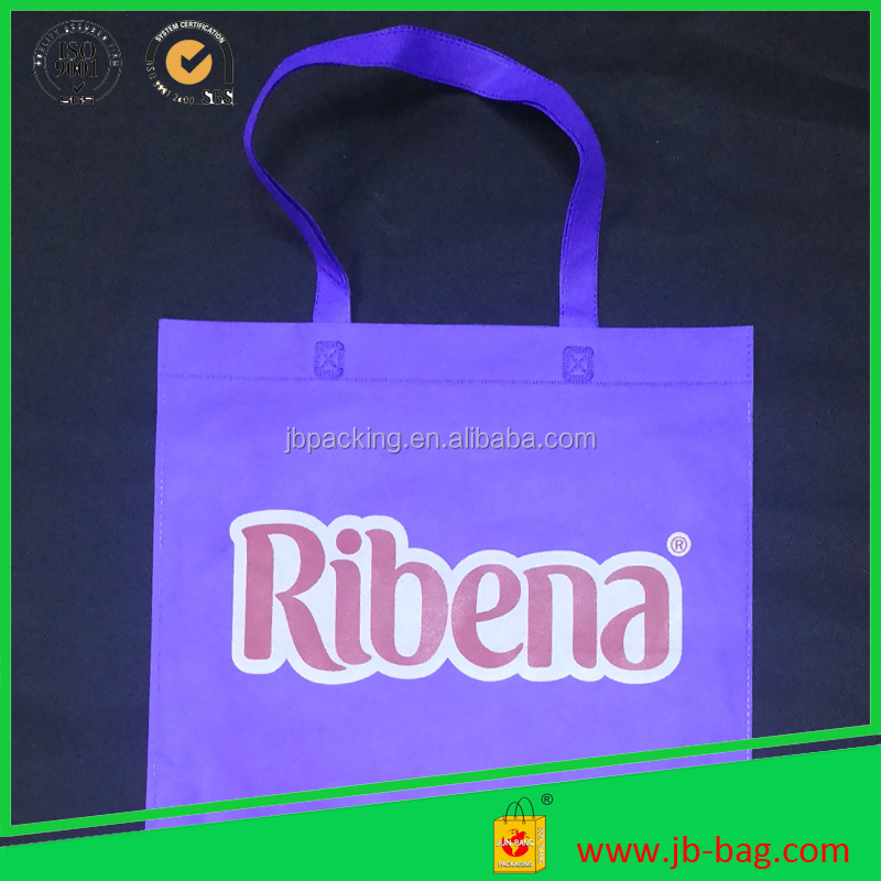 Manufacturer wholesale customized non woven tote shopping bag/ good quality non woven bag