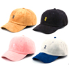 Plain Denim Mens 6 Panel Wholesale baseball cap distressed embroidery dad hat custom cheap dad hat