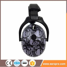 Sport shooting Ear defenders fuzzy earmuff headphone