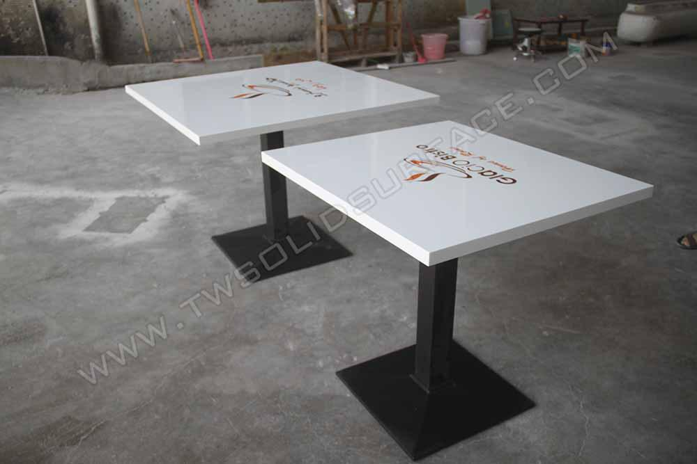 150 kinds design of marble hot pot desk corian table for. Black Bedroom Furniture Sets. Home Design Ideas