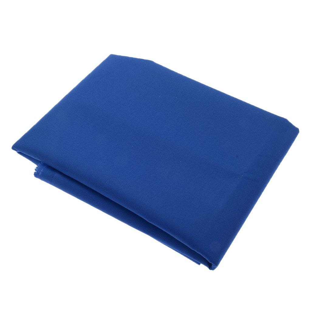 MagiDeal Heavy-Duty 600D Polyester Fabric Waterproof Outdoor Cover Canvas Tent Bag Fabric - Royal Blue, 2 Meters