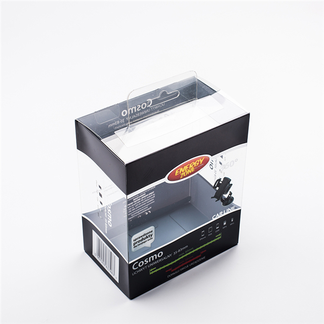 Phone Accessories Clear Plastic Retail Packaging Box for Cell Phone Case