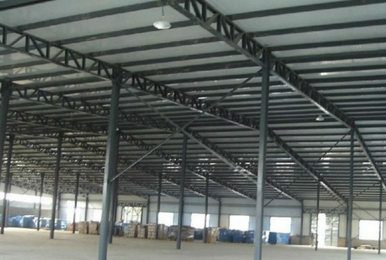 Long Span Metal Steel Roof Structure Warehouse - Buy Metal ...
