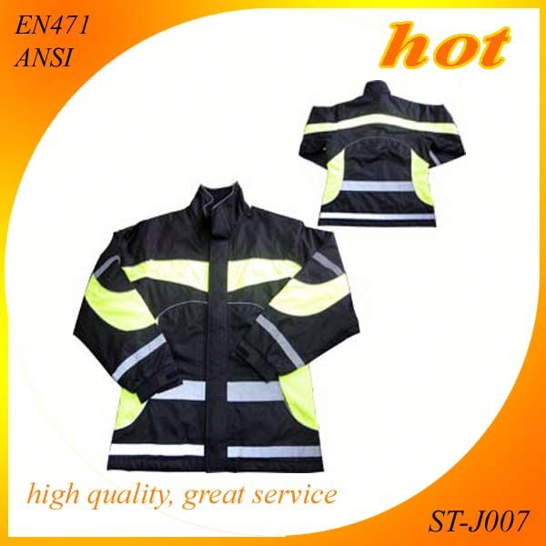 safety jacket safety clothing reflective work clothes protera winter jacket