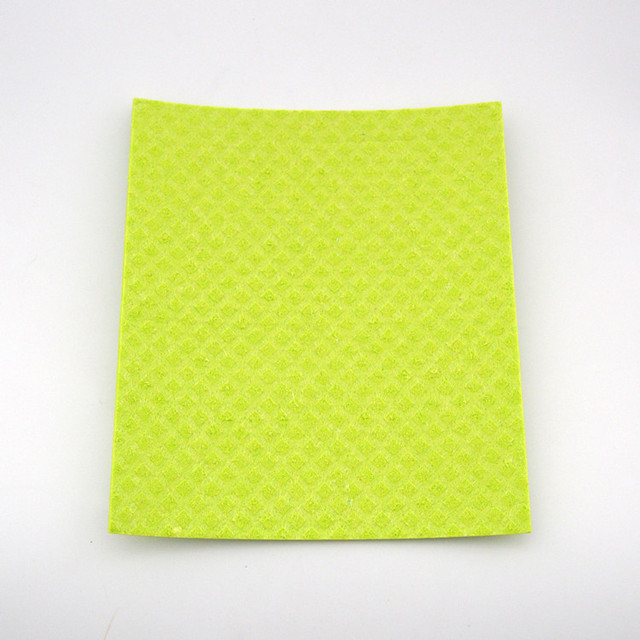 2018 hot sale product kitchen cellulose sponge microfiber cloth