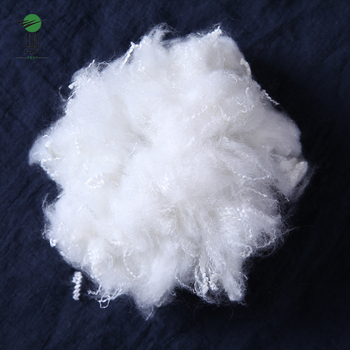 1.2d   recycled solid polyester Staple fiber From China supplier