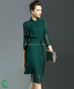 Latest Dress Designs Photos Free Size Ladies Shirt Dresses