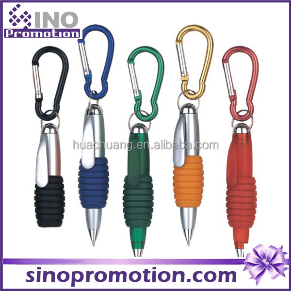 promotional key ring pen ball pen plastic offer logo printed service ball pen made in china