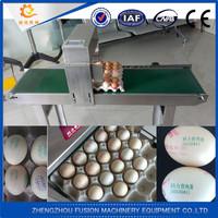 Eggs digital inkjet eggs printer/industrial inkjet printer/egg printing machine