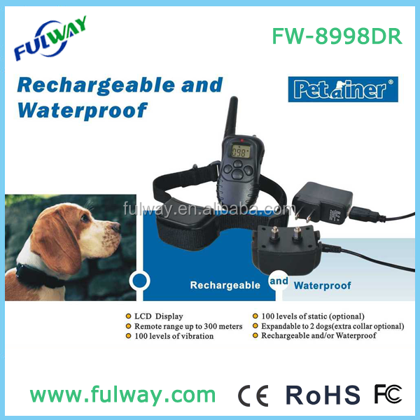 300 M Alcance do Controle Remoto Dog Collar Pet Trainer