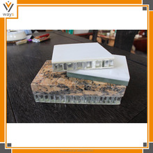 factory price composite marble for table top, laminate marble with aluminum for ceiling