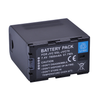 SSL-JVC70 High durability 7800mAh 7.4V Li-ion rechargeable digital camera battery pack
