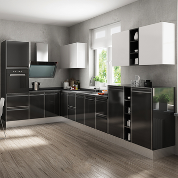 Ready Made Simple Design Gloss Uv,Lacquer Ghana Kitchen ...