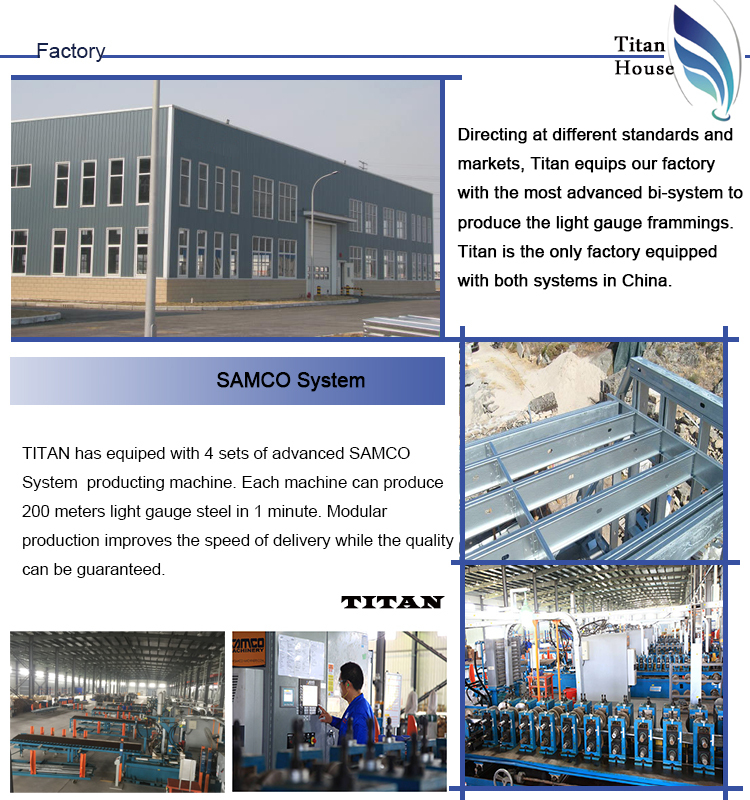 Steel Frames Prefabricated House