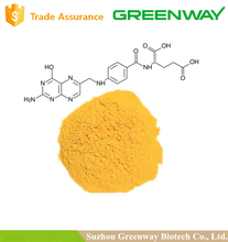 Folic Acid fine powder food grade/99% Folic Acid