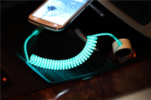 Power4 Car Cigarette Lighter Led Light Up Cable,Micro Usb Car ...