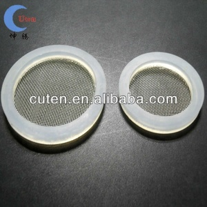 Water filter gasket with silicone & Stainless Steel Mesh