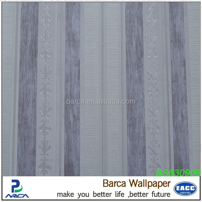 the best selling home interior photo 3d striped wallpaper modern interior wood door designs for home and hotel use
