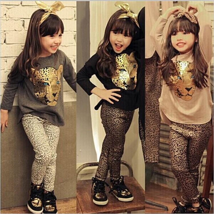 caaeddc5a1 2016 Moda Infantil Roupas Menina Set Criança Roupas De Compras Online