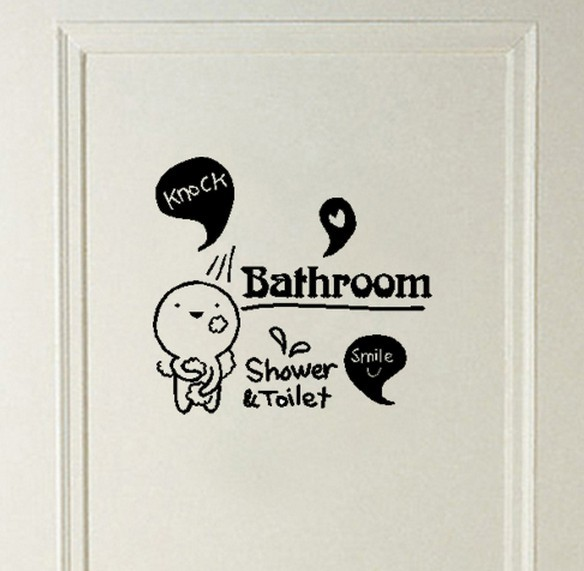 Quotes For The Bathroom: Popular Toilet Sayings-Buy Cheap Toilet Sayings Lots From