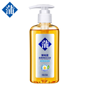 Chinese herbal ingredients for skin irritation swelling itching Shower Gel