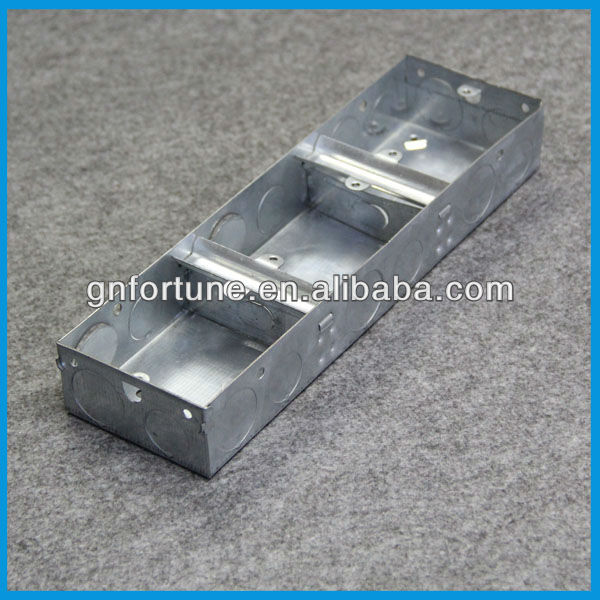 Galvanized Steel Electrical Metallic Junction Boxes